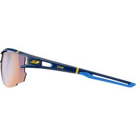 Julbo Aero Zebra Light Red Sunglasses Dark Blue/Blue/Yellow-Multilayer Blue